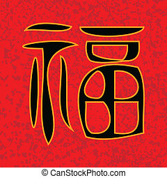 Prosperity - Prosperity in Chinese writing