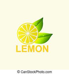 Vector Fresh lemon