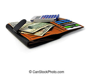 Personal finances - wallet calculator credit cards
