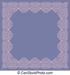 Vector ornamental background - Vector vintage pattern for...