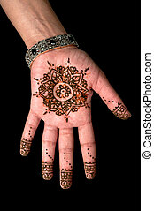 Henna - Mehendi tattoo - body art - Body art - Fashionable...