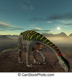 Plateosaurus - 3D Render of an Plateosaurus-3D Dinosaur