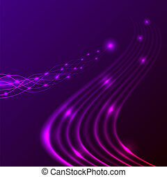 Abstract energy stream horizontal background. Eps10 file.