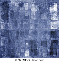 Textured background - Blue textured grunge canvas background