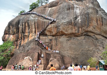 Sigiriya Ancient Fortress (Lion%u2019s Rock), Sri Lanka