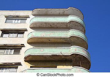 Cuba apartment building