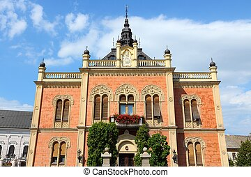 Novi Sad, Serbia - city in the region of Vojvodina Old...