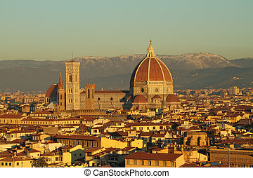 view of cathedral of  Florence