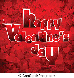 Happy Valentine's Day - illustration of Valentine's Day...
