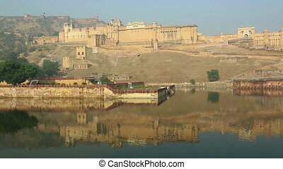 Amber (Amer) fort. - Magnificent Amber fort overlooking the...