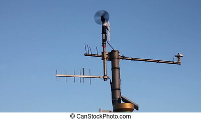 Wind vane - An instrument for wind direction forecast