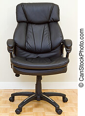 Chairman chair - Black Leather chairman chair in office