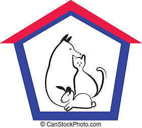 Veterinary pets logo