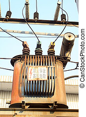 transformer - a kind of power supply facilities - rural...