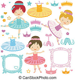 ballerina set - little ballerina set for kids