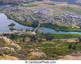 Queenstown - By dusk Queenstown, NZ turns into a beautiful...