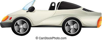 An elegant sports car