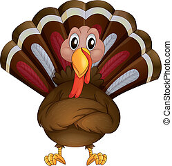 A problematic turkey - Illustration of a problematic turkey...