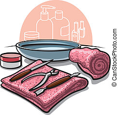 manicure, ferramentas