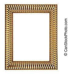 frame - vintage frame isolated on a white background