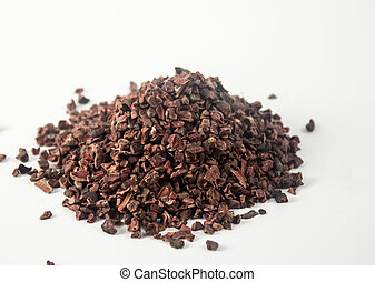 Raw cacao organic crushed - photo