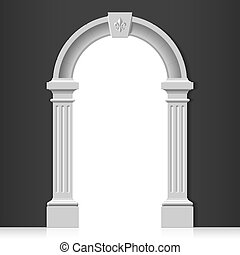 Classic arch - Vector illustration