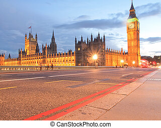 Houses of Parliament Westminster Palace London gothic...