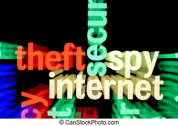 Theft spy internet