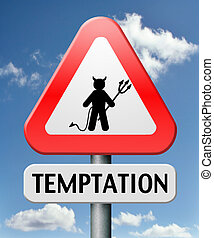 temptation resist temption from devil lose bad habits by...