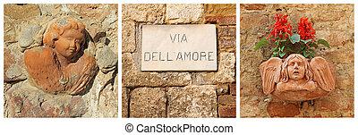 Love street ( italian via dell amore ) , Italy