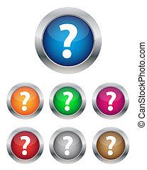 FAQ buttons