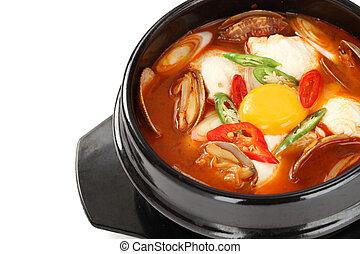 sundubu jjigae, korean soft tofu st