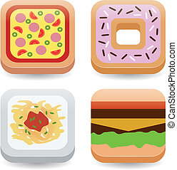 food application icons