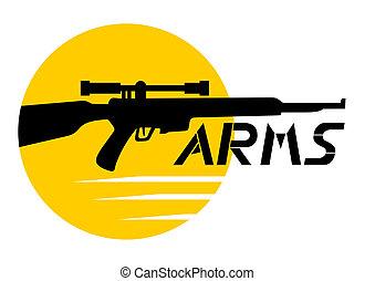 braços, ícone