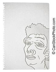 Art face paper