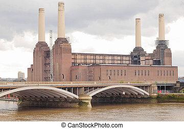 Battersea Powerstation, London - Battersea Power Station in...