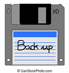 Back up disk - Creative design of back up disk