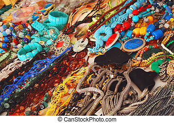 Necklace Market Place - Collection of Colorful Necklace at...