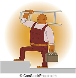 Workman - Illustration of workman