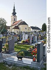 Graveyard in Austria