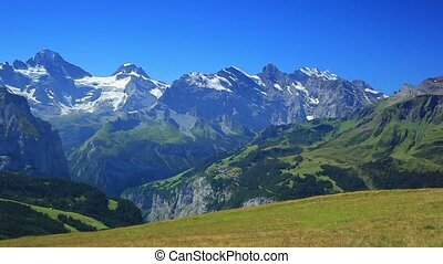 Alps mountains.