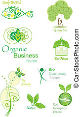 Organic and Bio vector collection - OrganicBio vector...