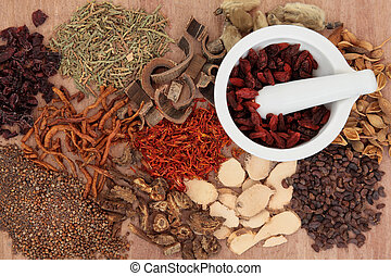 Chinese Herbal Medicine - Traditional chinese herbal...