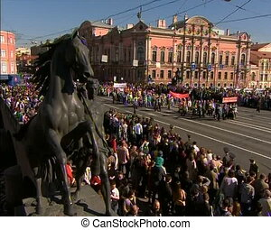 Parade on victory Day
