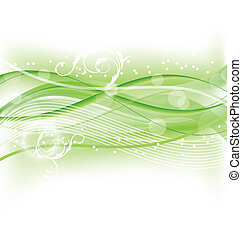 Abstract nature background, design template - Illustration...