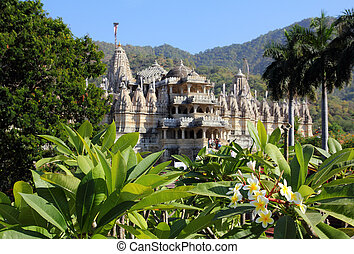 hinduism temple ranakpur in india