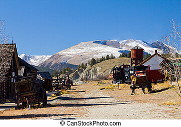 South Park City Colorado Old Western Town