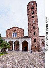 Basilica of Sant Apollinare Nuovo in Ravenna, Italy
