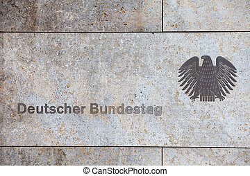 Government of GermanyDeutscher Bundestag The inscription on...