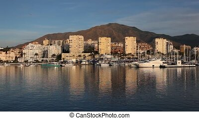 Marina of Estepona, Spain - Marina of Estepona, Costa del...